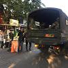 2 Kendaraan TNI AD Masuk Mako Brimob di Tengah Penanganan Rusuh