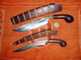 Provinsi Bengkulu - Senjata Tradisional : Kuduk, Badik, Rudus