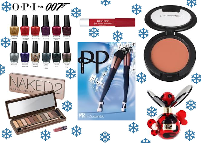 Winter Wishlist Collage Beauty Clothing