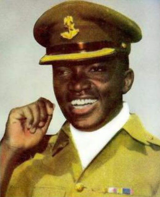 Photos Of Nzeogwu Who Led Nigeria's First Coup In 1966
