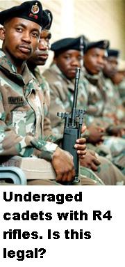 Image result for narysec CADETS WITH WEAPONS