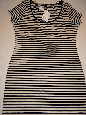 stripped dress, diy, diy idea, diy dress