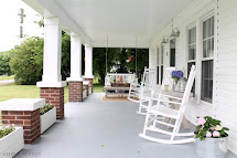 Keeping Cozy Front Porch