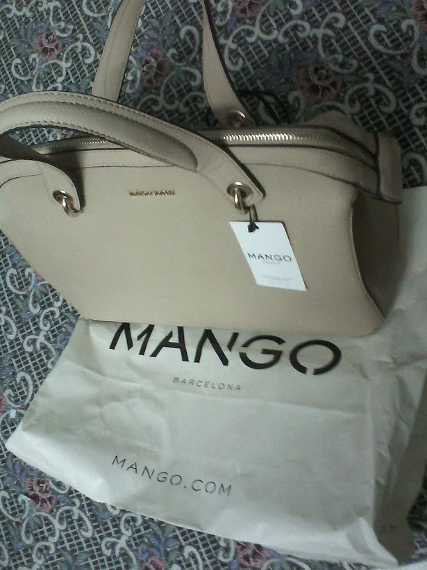 Mango Touch Metal Detail Tote Bag Review‏