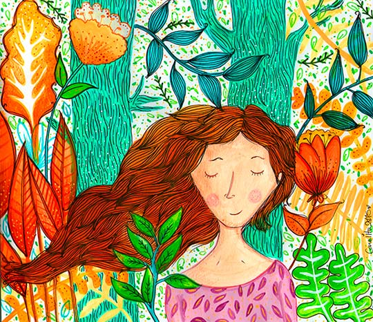 Ilustración de Valeria Peña