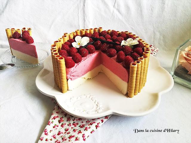 Charlotte aux framboises et vanille mascarpone - Dans la cuisine d'Hilary