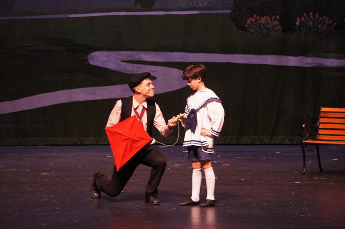Mary Poppins Kite Scene