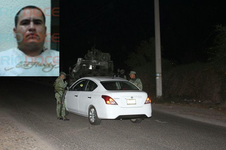 """Pancho """"Chimal"""" llevaba un fusil lanza granadas que de nada le sirvio , Fue abatido por MARINOS de cualquier manera"""