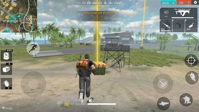 Langkah –langkah Cara Main Game Free Fire di PC