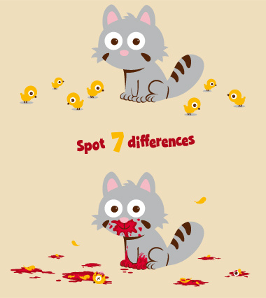 Can You Spot 7 Differences?