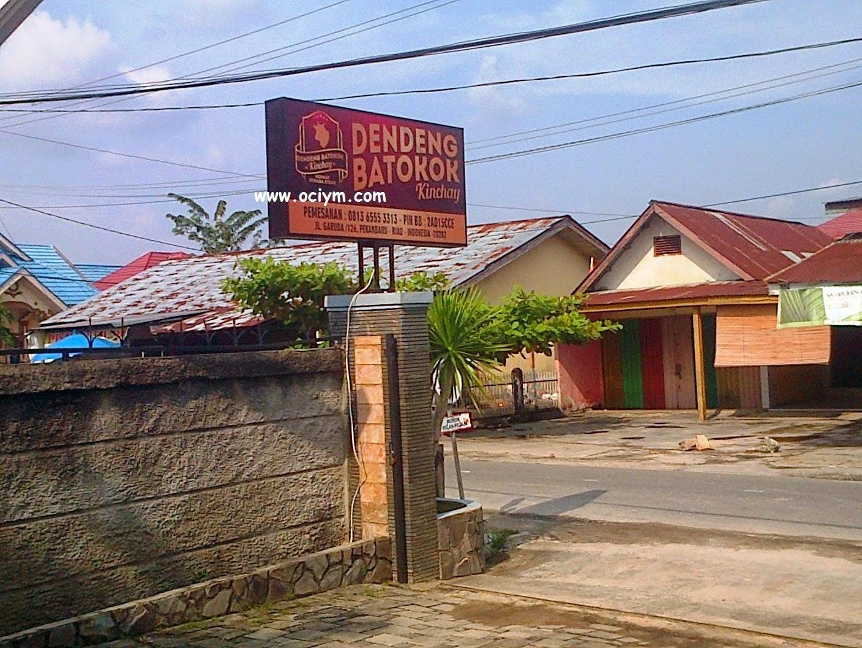 Dendeng Batokok Kinchay Pekanbaru