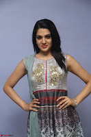 Sakshi Chaudhary Beautiful Emroidery Work Sleeveless Anarkali Dress 046.JPG