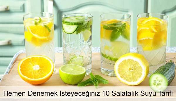 Salatalık Suyu Tarifi - Salatalık Suyunun Faydaları