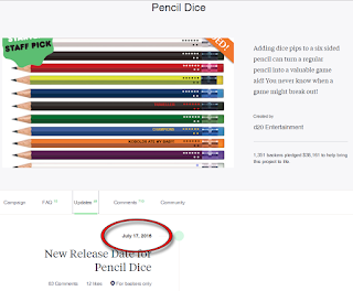 "Ken ""Whit"" Whitman has Given up all Pretense of Fulfilling the Pencil Dice Kickstarter"