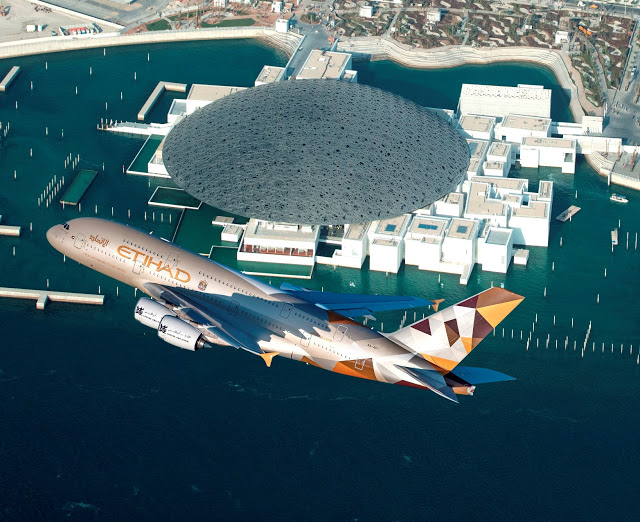 Etihad Airways X Louvre X Abu Dhabi