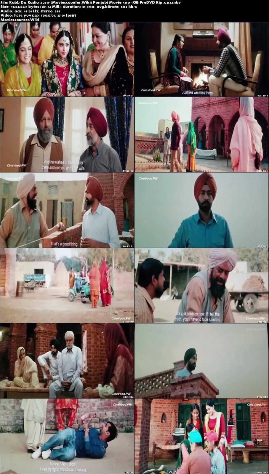 Screen Shots Rabb Da Radio 2 2019 Punjabi HD 720p