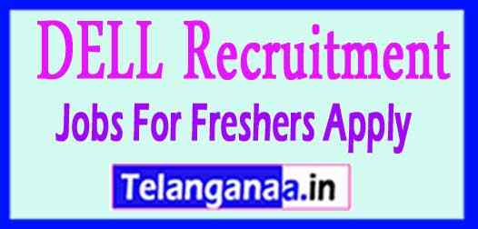 DELL Recruitment  Jobs For Freshers Apply