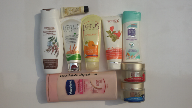 Empties from January February March