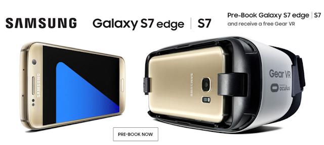 Samsung Galaxy S7 Edge Book Online
