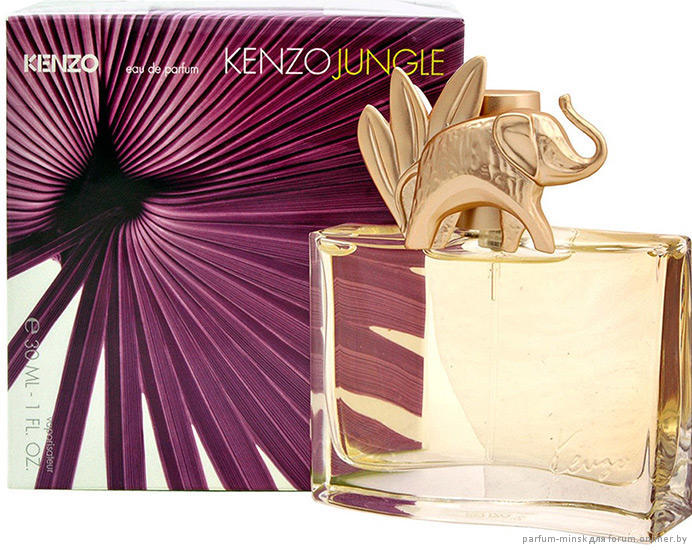I Smell Therefore I Am Kenzo Jungle Lelephant Perfume Review