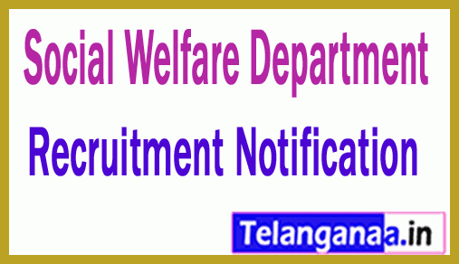 Social Welfare Department SWD Recruitment Notification