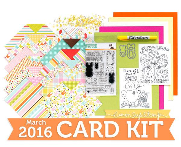 March 2016 Card Kit by Simon Says Stamp