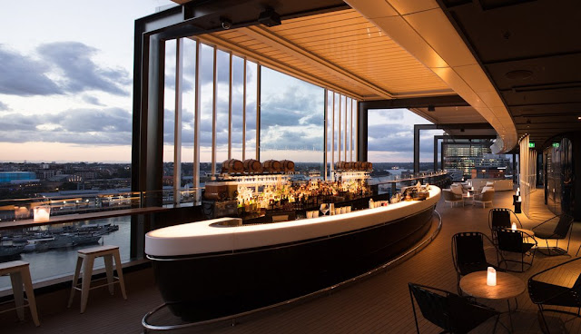 Rooftop bar Zephyr is perfect for a sunset drink.