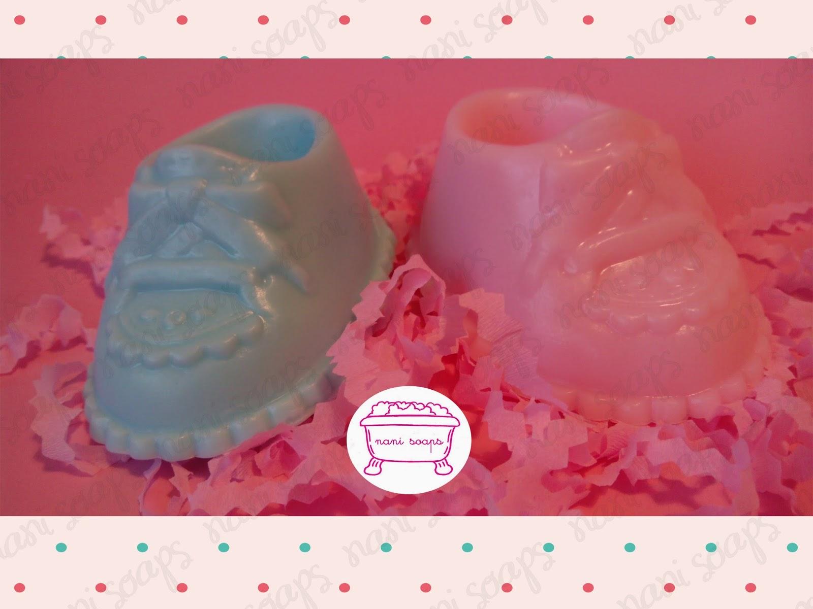 patucos de jabón decorados para bautizo