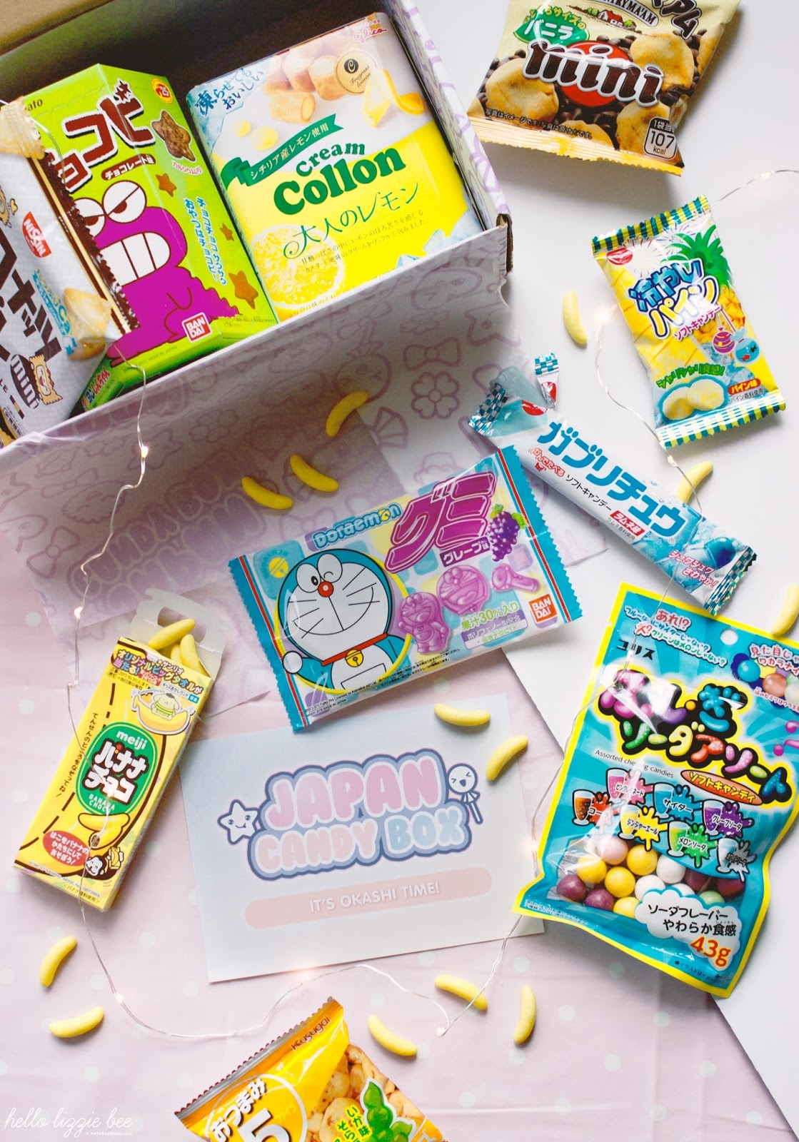 japan candy box, japanese sweets