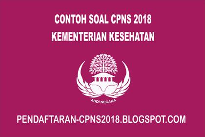 Contoh Soal CPNS CAT SKD SKB Kementerian Kesehatan  Contoh Soal CPNS CAT SKD SKB Kementerian Kesehatan  2021 [Lengkap]