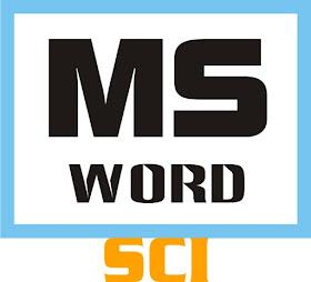 Microsoft Word eBook formatting