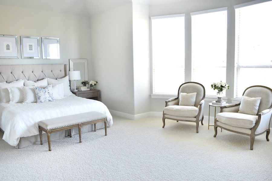 dormitorio glam chic interiores