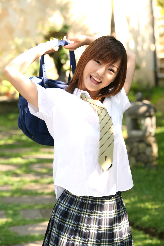 Bahamas Asami Tani In School Girl Uniform-3708