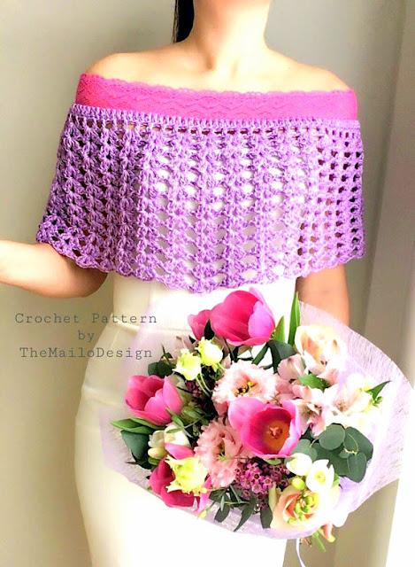 bridal shrug crochet pattern