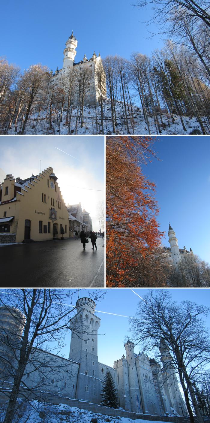 Nueschwanstein, Munich guía de viajes, Bavaria, Alemania