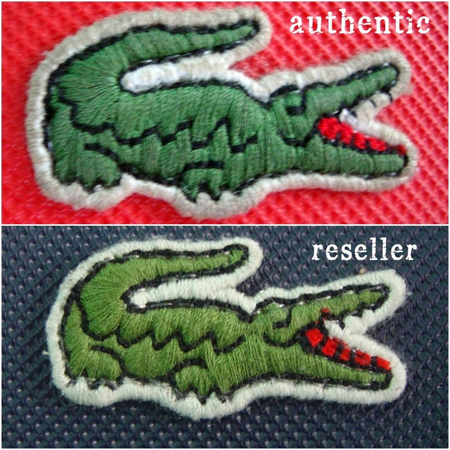 dca118fa99e Lacoste concept shopping bag review an attempt to spot jpg 903x903 Real and fake  lacoste logo