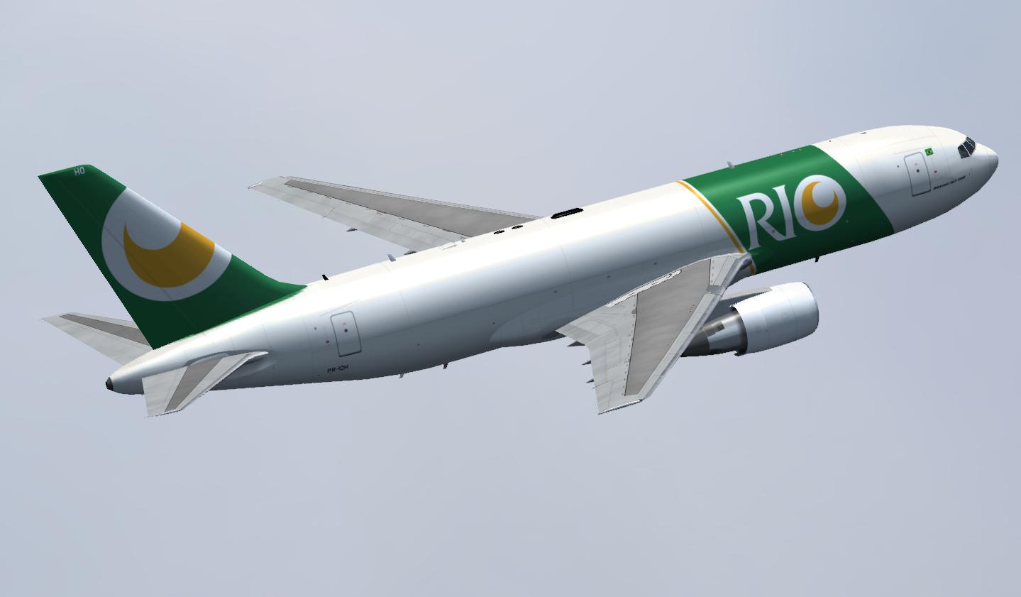 Boeing 767-200ERF RIO Cargo | Bravo Zulu Repaint Studio
