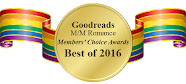 Cody is nominated for All-Time Favorite Author in the 2016 Goodreads Members' Choice Awards
