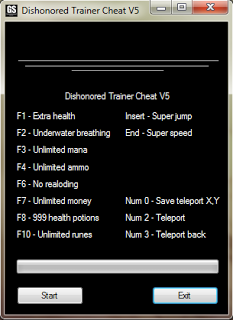 Dishonored - Trainer Cheat v5 [FREE] ~ Games4Youu