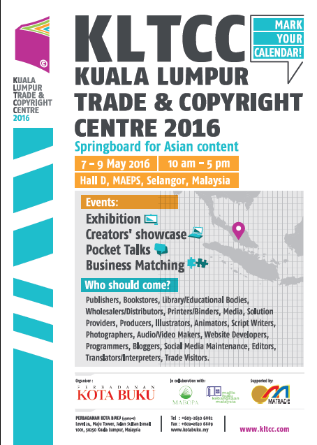 Kota Buku Organise World's First Publishing To Media 360 Pitching Competition