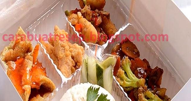 resep aneka menu nasi kotak bandung murah resep masakan