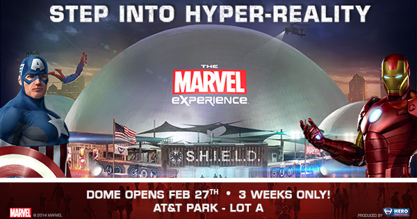 WIn tickets to the Marvel Experience