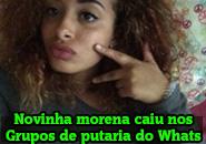 Caiu no WhatsApp morena gostosa de Campinas