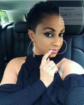 Asamoah Gyan's wife breaks the internet with her stunning photo-holykey1.com