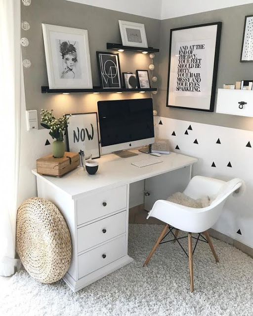 Home Office Design Ideas For Small Areas: A Stroll Thru Life: Friday DIY & Finds