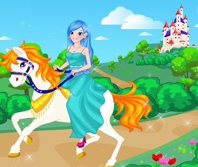 Free Kids Games: Princess on White Horse Game For little ...