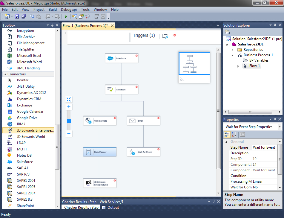 Magic xpi 4.5 Visual Studio Project
