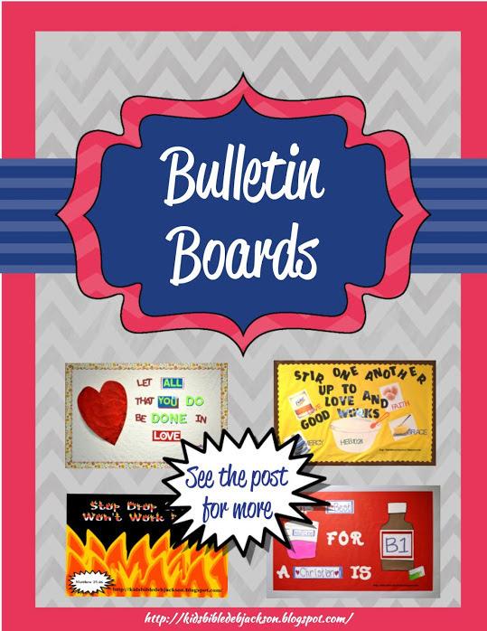 Attractive New Bulletin Board Ideas