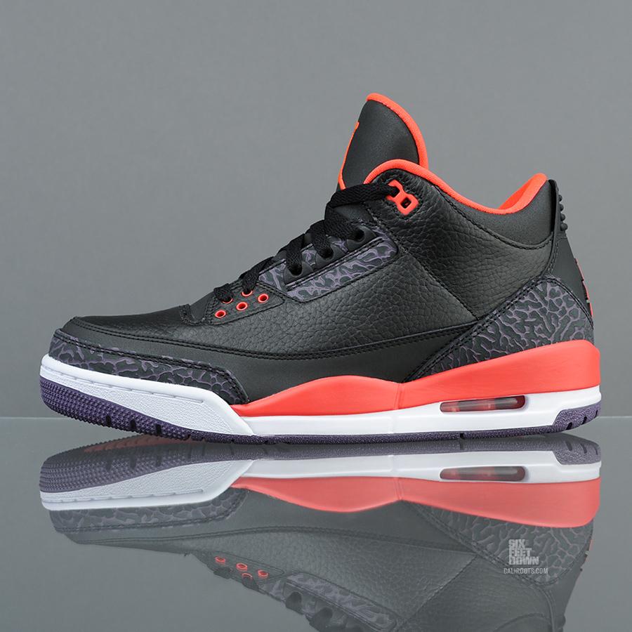 """Six Feet Down: Air Jordan 3 Retro """"Crimson"""" Releaseinfo!"""