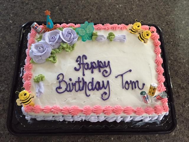 Happy Birthday Cake Tom
